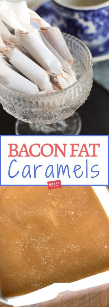 Bacon Fat Caramels