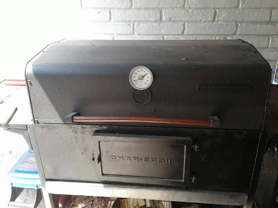 Long Barbecue Smoker