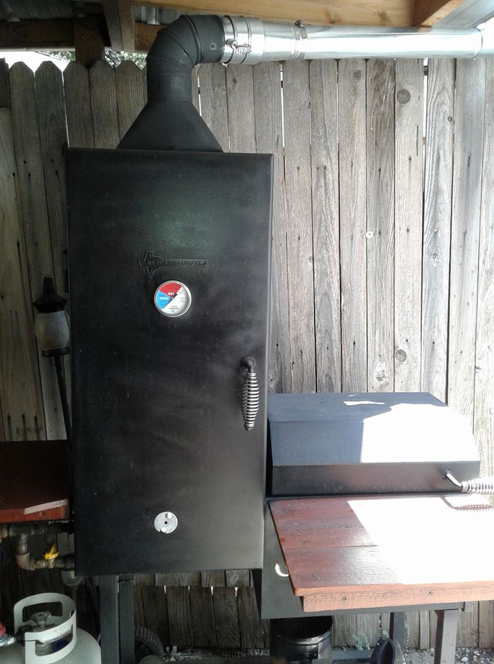 Tall Barbecue Smoker