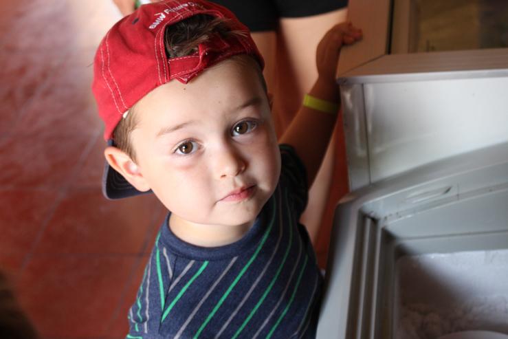 My son Micah
