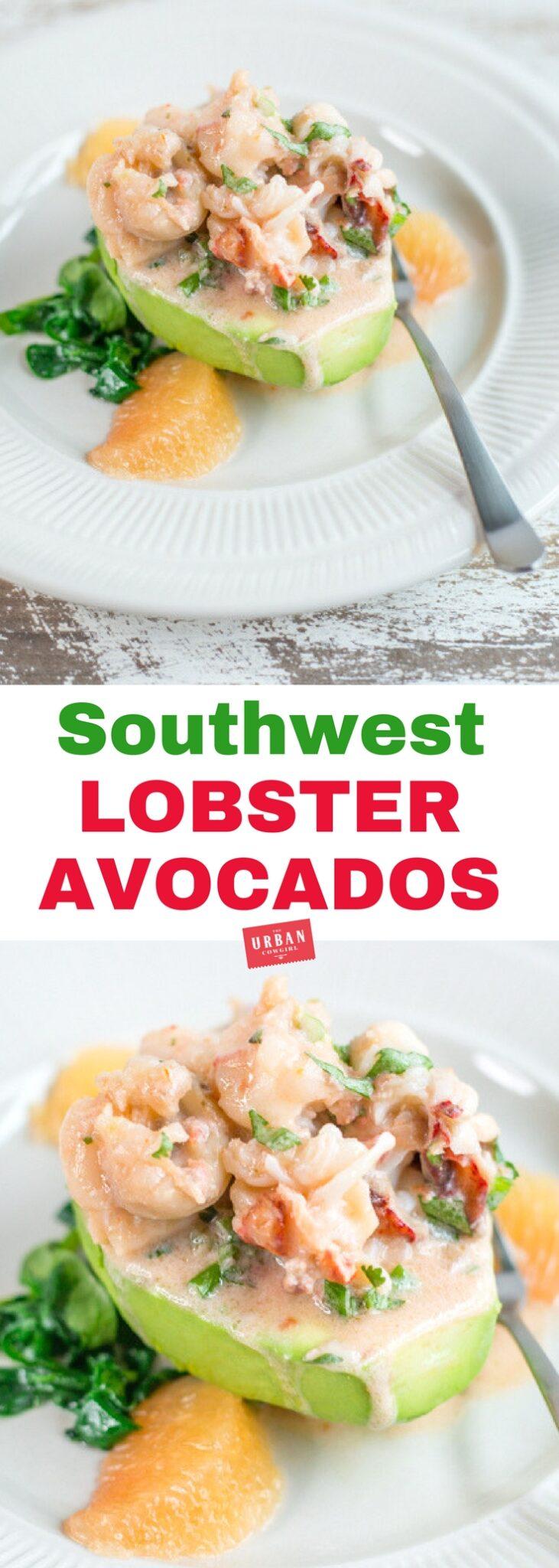 Lobster Stuffed Avocados