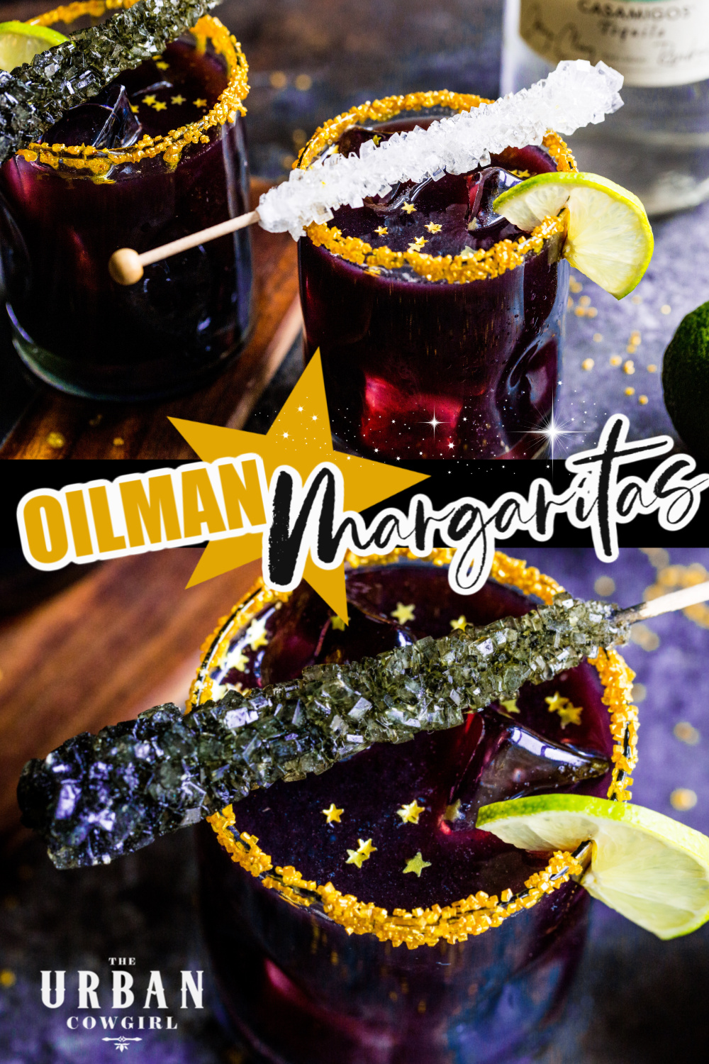 Black Margaritas Recipe - Oilman Margaritas