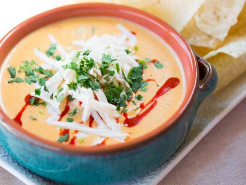 Torchy's Queso CopyCat in a beautiful bowl