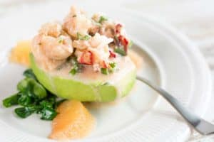 Lobster Stuffed Avocado