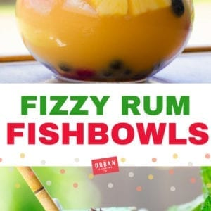 Fizzy Fish Bowl Cocktails