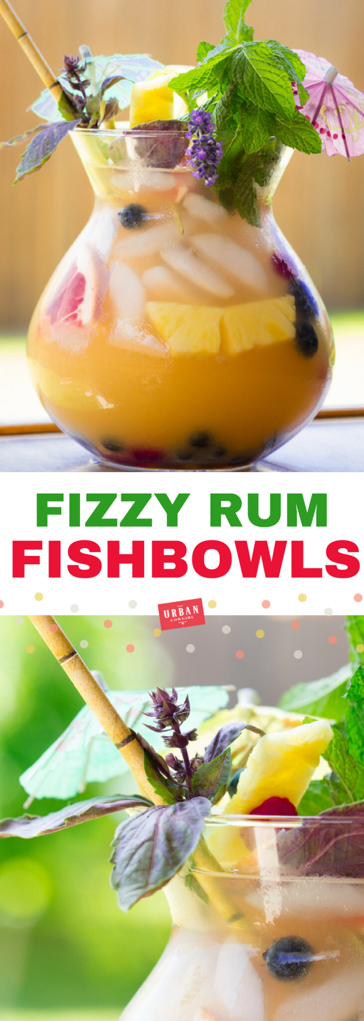 Fizzy Fishbowl Cocktail Recipe