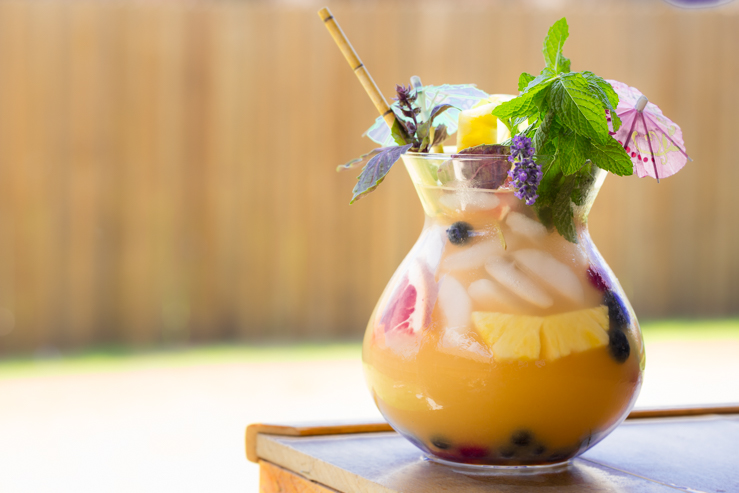Fizzy FIshbowl Cocktails