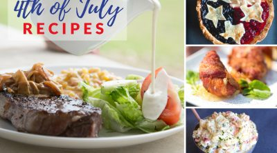 4th of July recipe collage