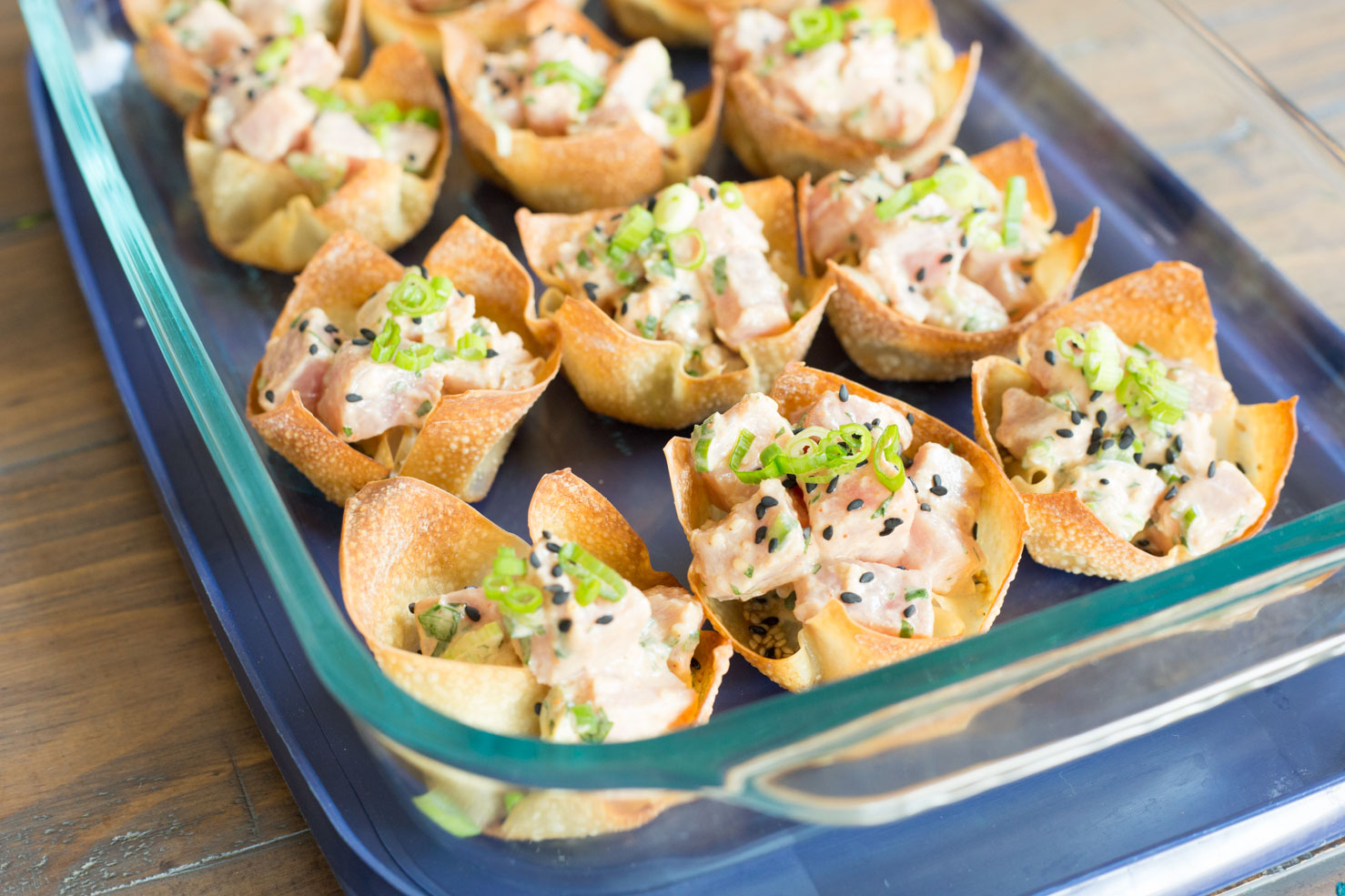 Poke Cups ready for your 4th of July barbecue