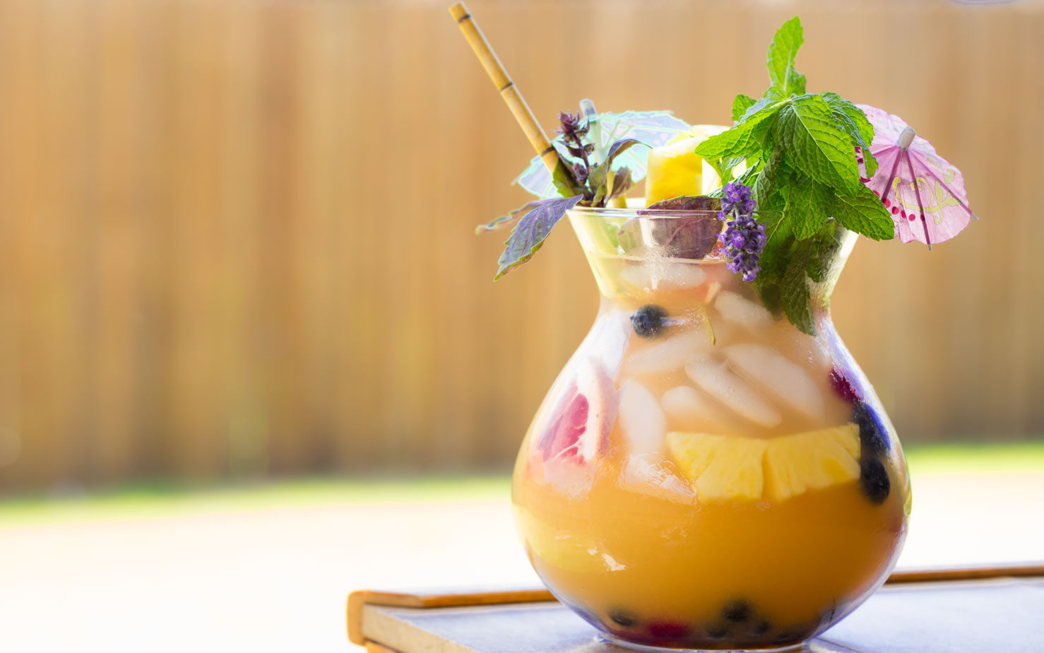 4th of July Recipes: Fishbowl Cocktails