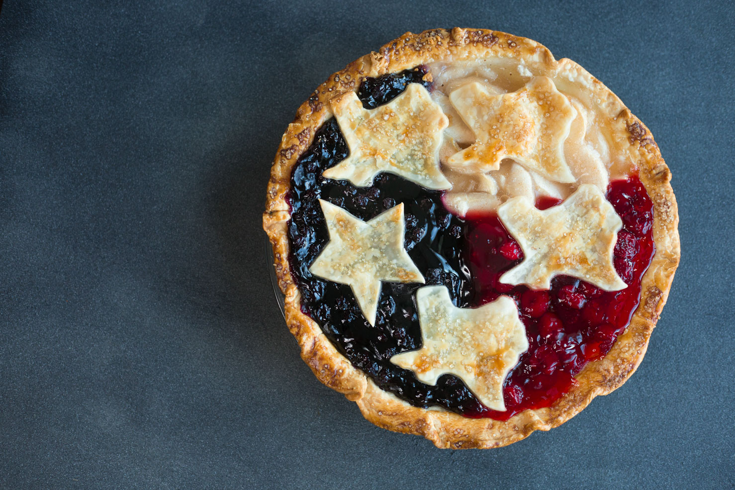 Texas Pie for 4th of July