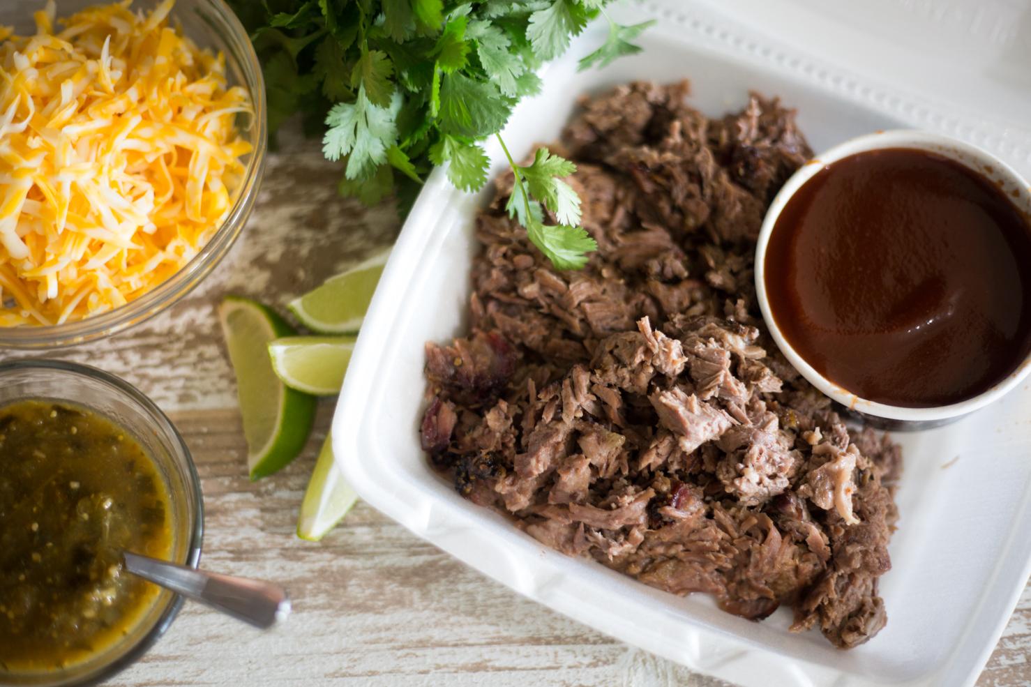 Brisket Walking Tacos Potluck Prep