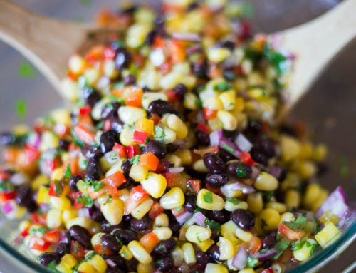 Corn and Black Bean Salad with Mexican Vinaigrette