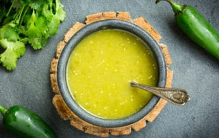 Delicious, homemade, Salsa Verde, Texas style!