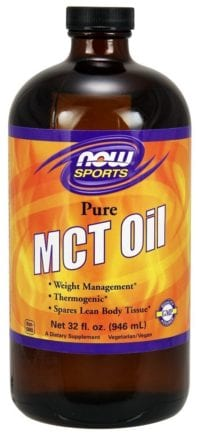 Now brand MCT Oil 32 oz. for keto diet