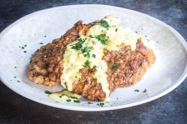 Veal-scaloppine-with-jalapeno-mustard-cream
