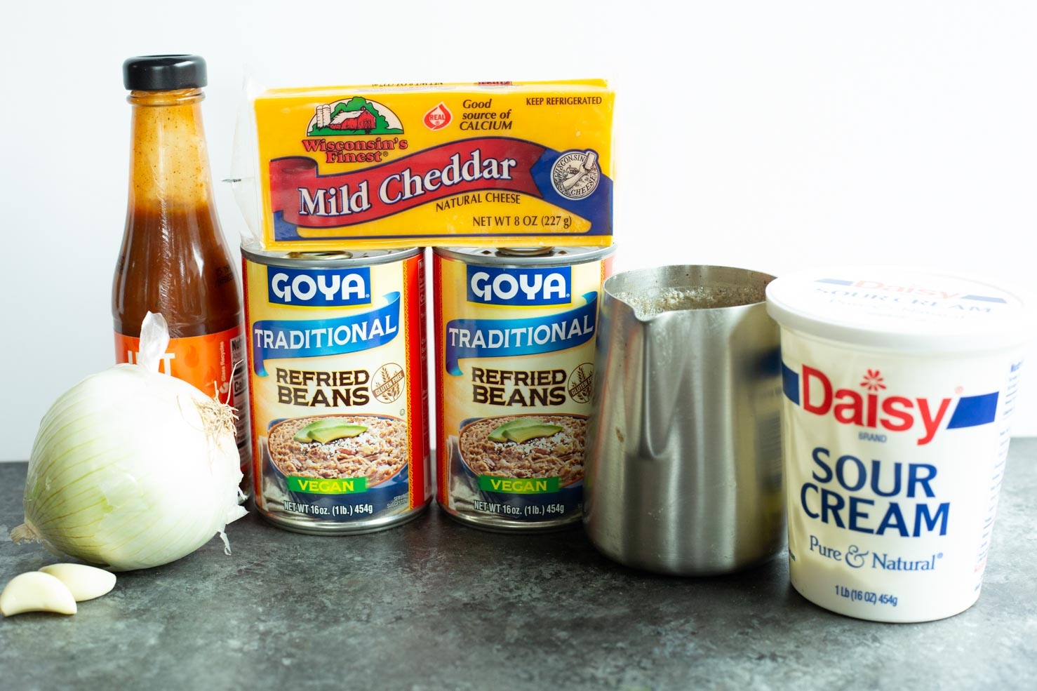Refried Beans Recipe Ingredients