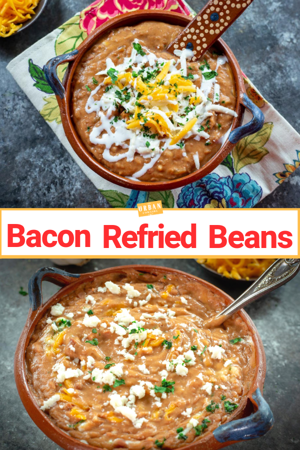 Refried Beans Recipe Pin