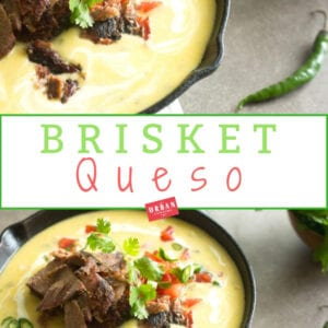 Texas Brisket Queso Recipe