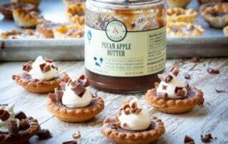 Pecan Apple Butter Tarts Recipe
