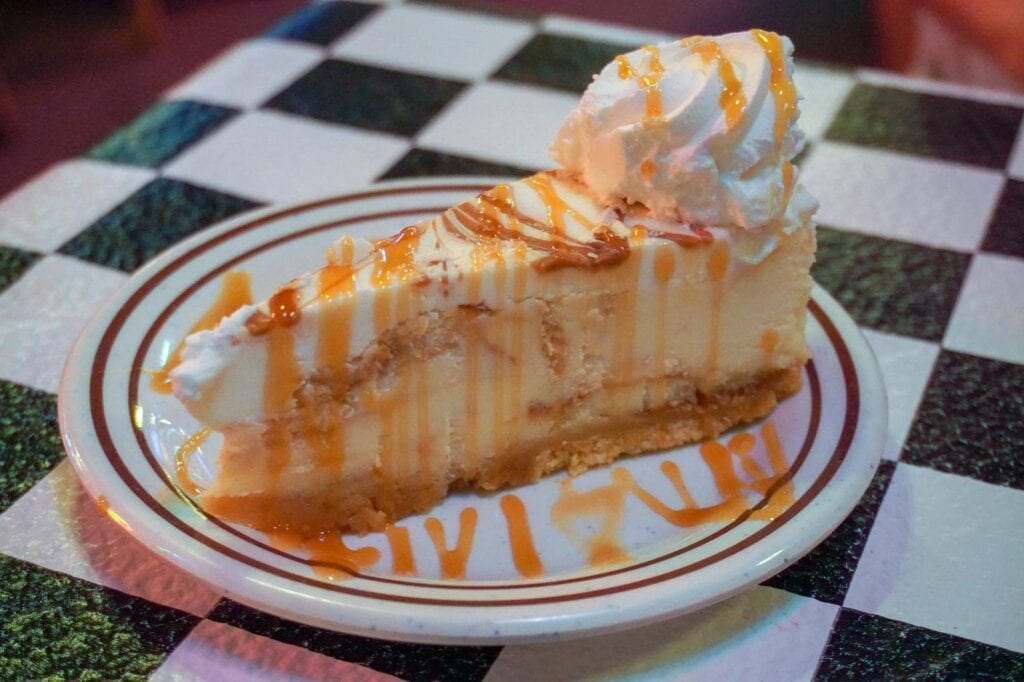 Bananas Fosters Cheesecake from Acme Oyster house