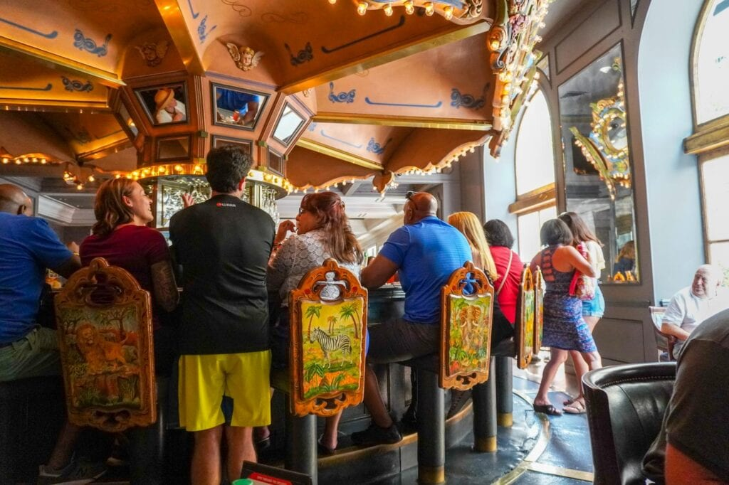 The Carousel Bar at the Hotel Monteleone in the French Quarter, New Orleans