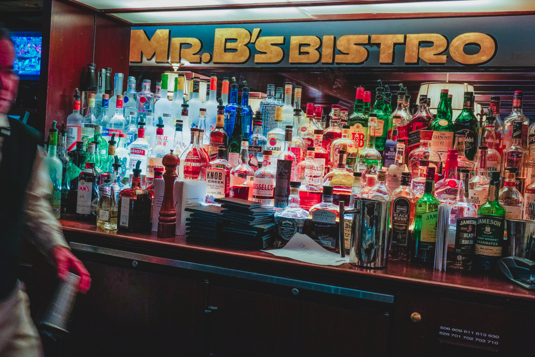 Mr. B's Bistro Bar in New Orleans, Louisiana