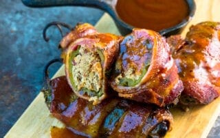 Texas Twinkies with Barbecue Sauce -a barbecue appetizer