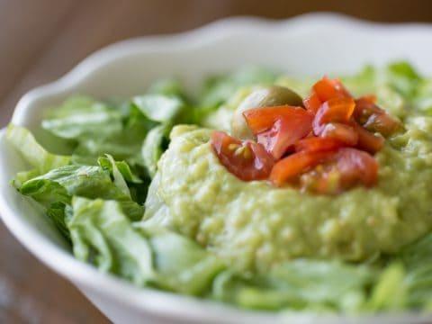 The Famous Candlelite Inn Guacamole Salad