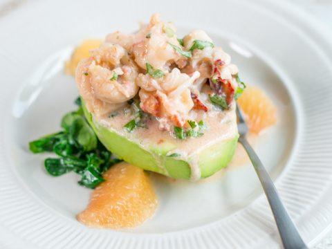 Lobster Stuffed Avocados Recipe