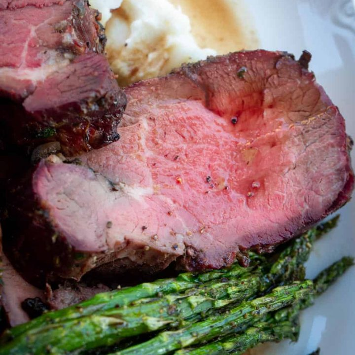 Smoked Beef Tenderloin with Maple Shallot Marinade