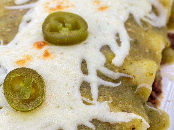 Beef Enchiladas with Green Sauce Recipe